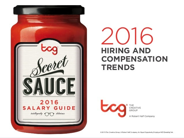 2016 Hiring and Compensation Trends for Creatives