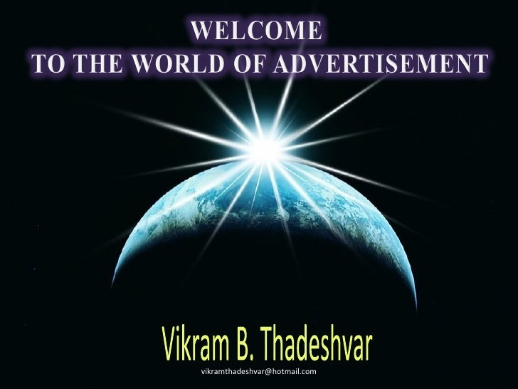 Vikram B. Thadeshvar  [email_address]