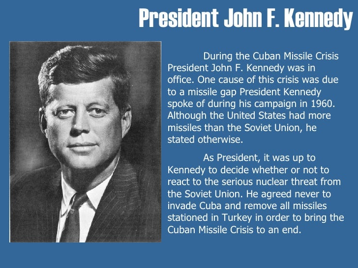 john f kennedy thesis