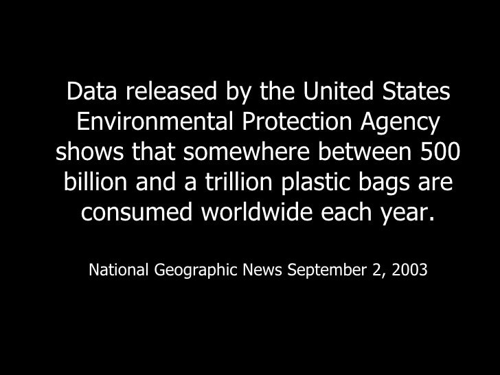 The dangers of plastic bags