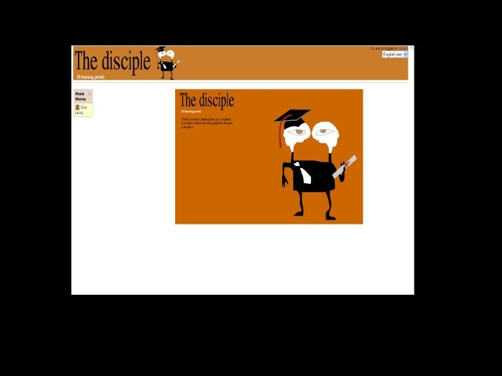 The Disciple  Iridium Interactive E Learning Portal