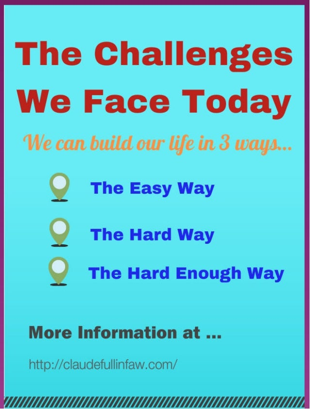 The Challenges - To Create Success In Network Marketing