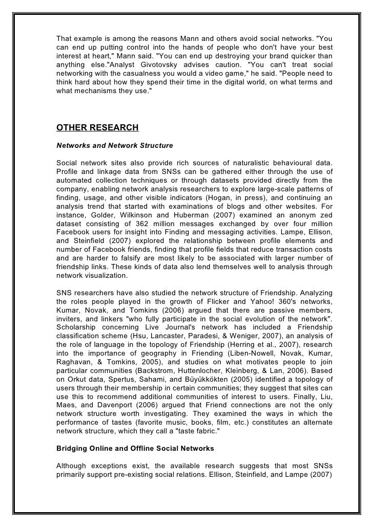 essay on networking Network literature essays are academic essays for citation these papers were written primarily by students and provide critical analysis of the movie network.