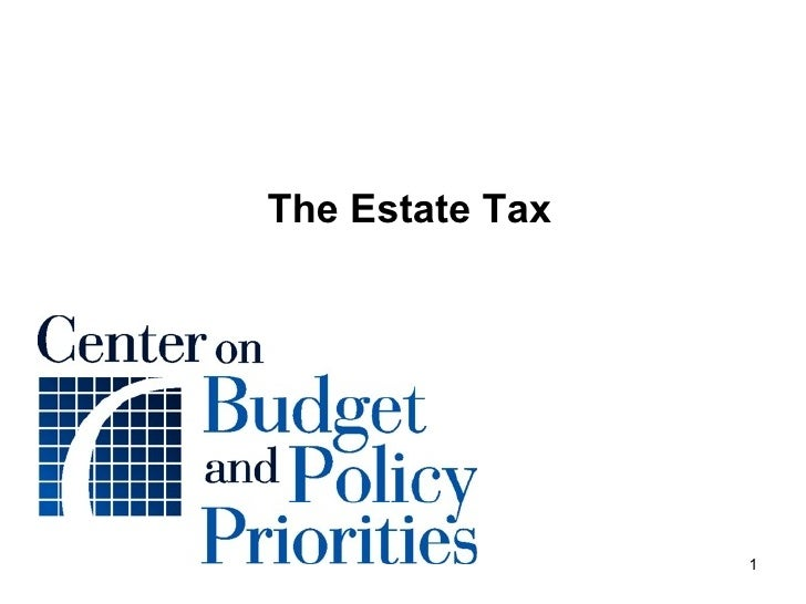 The Estate Tax Slides 02.09.09 Notes