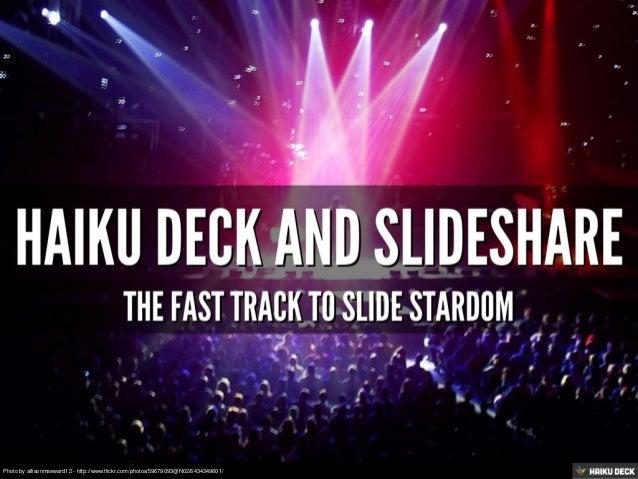 The Fast Track To Slide Stardom