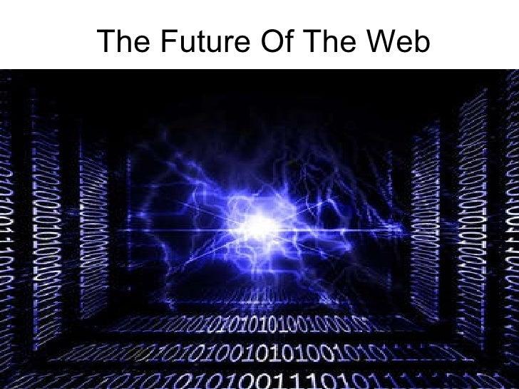 The  Future  Of  The  Web - Agenda