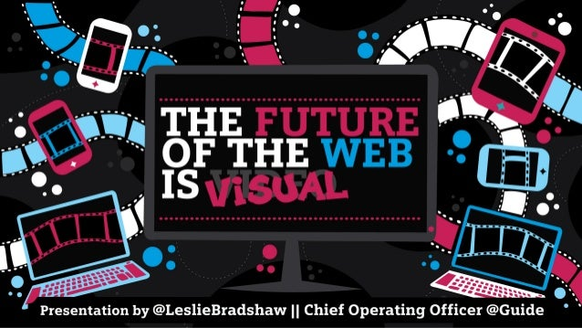 The Future of the Web is Visual