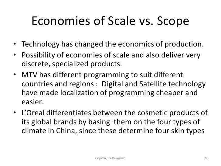 economies of scale essay Economies of scale vs diseconomies of scale economies of scale and  diseconomies of scale are concepts that go hand in hand they both.