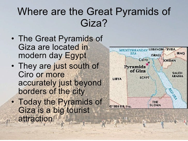 essay on pyramid of giza The great pyramid of giza is one of the  pyramid construction and the afterlife of the pharaoh the great pyramid of giza is one of the seven wonders of the ancient world it is the only one left standing out of the seven.