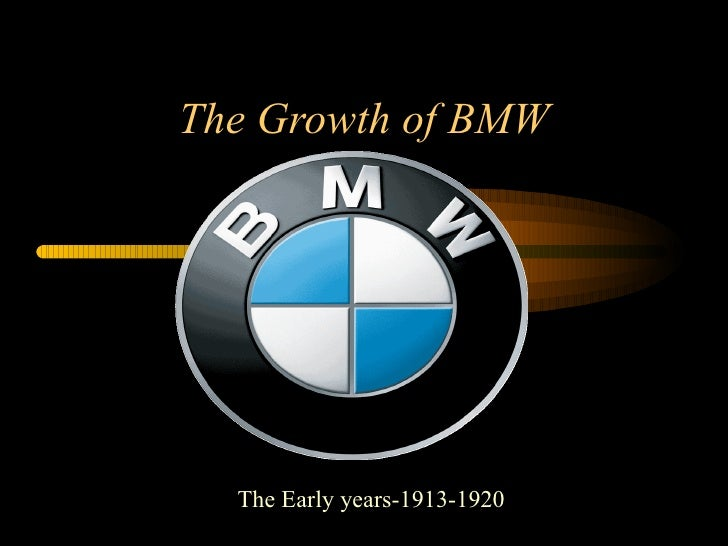The Growth of BMW   The Early years-1913-1920