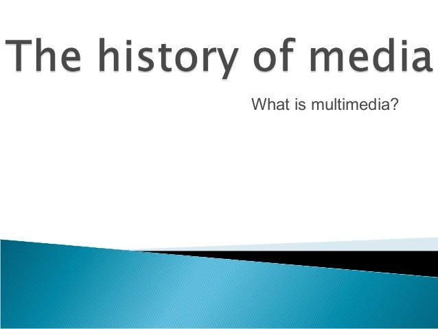 What is multimedia?