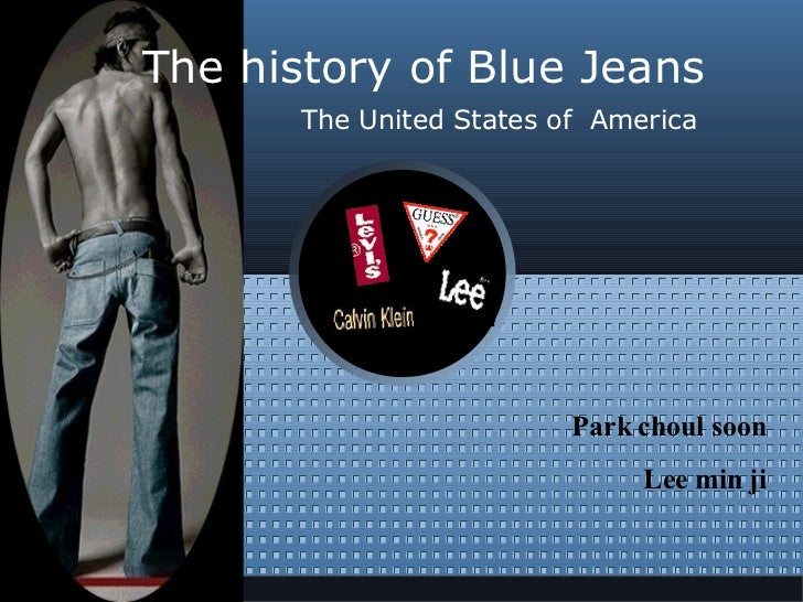 The history of Blue Jeans The United States of  America Park choul soon Lee min ji