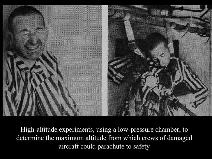 experiments done during the holocaust