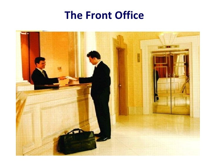 The hotel-front-office