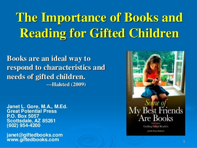 the importance of reading to children When reading to children, stop every once in awhile and ask them what they think is going to happen next get them thinking about the story when it is finished finally, why is reading important.