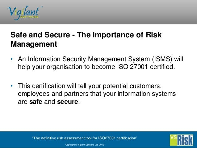 importance of risk management in the Risk management is an important part of project management which if done  efficiently leads to the success of your project risk management is.