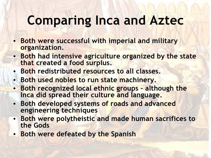 compare and contrast aztec civilization and mayan civiliza Lecture suggestions 1 compare and contrast the imperial civilizations of the from history world civi at open uni.