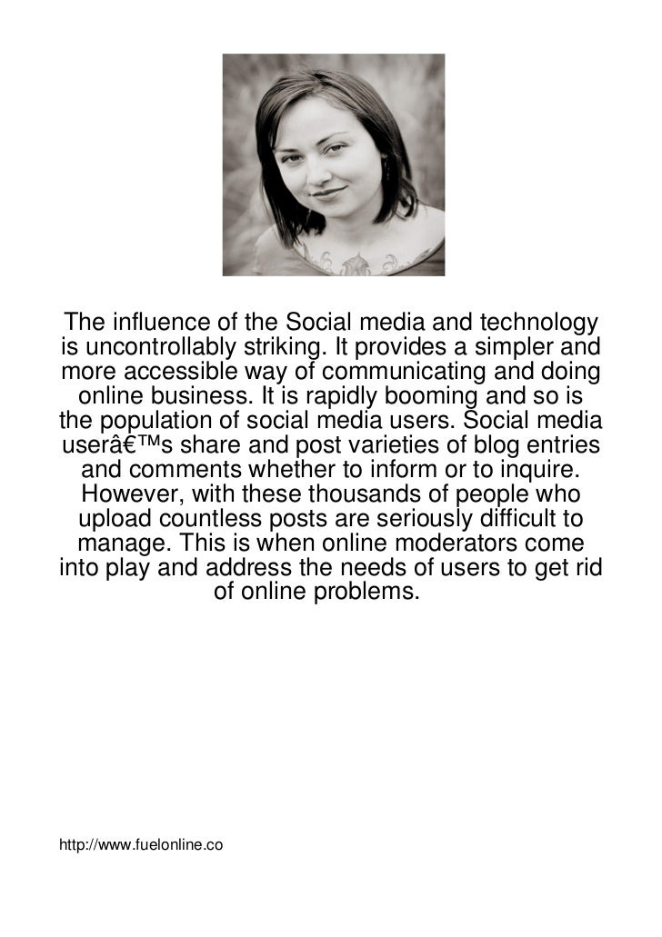 The-Influence-Of-The-Social-Media-And-Technology-I107