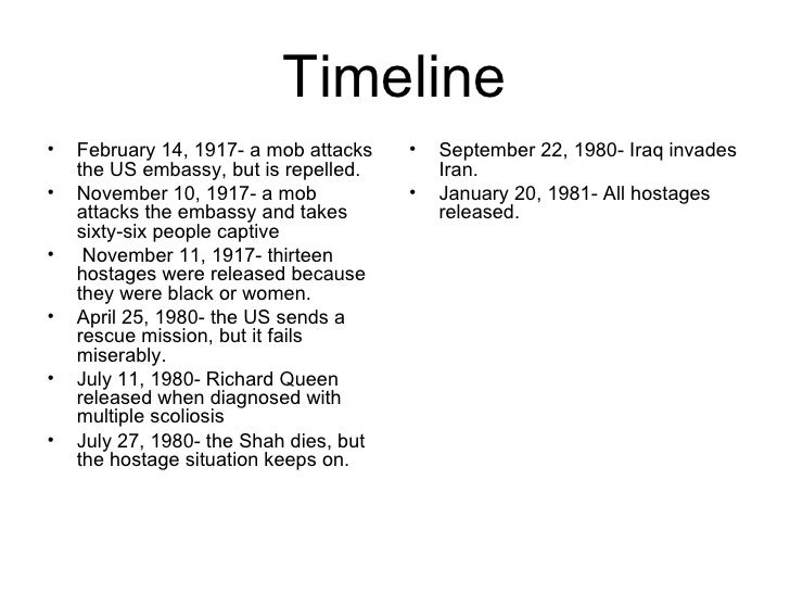 a history of the iran hostage crisis Transcript of cause and effect of the iranian hostage crisis iran hostage crisis by  fued between us and iran still going today iran hostage crisis oil conflict.