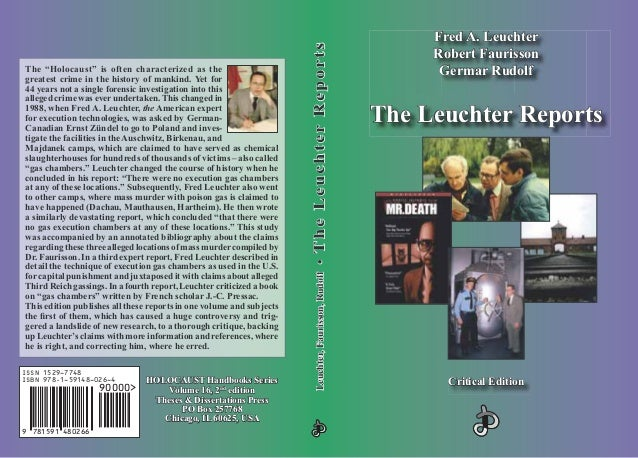 The leuchter-reports-critical-edition-fred-leuchter-robert-faurisson-germar-rudolf