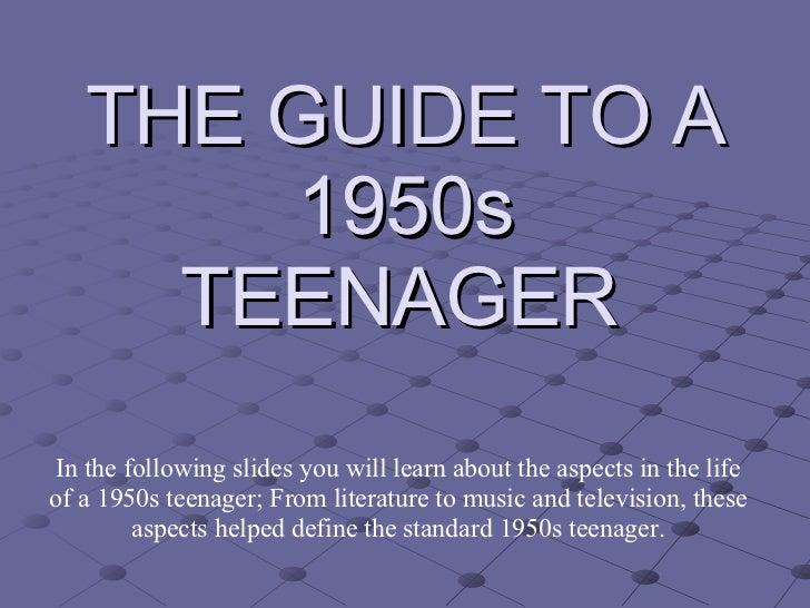 50s fashion teenage boys teenagers of the 1950s