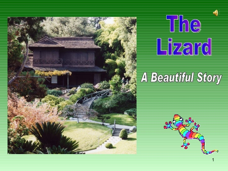 The Lizard A Beautiful Story