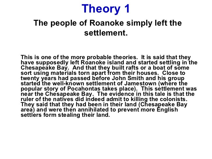 conclusion of the settlement of jamestown by john smith Study 36 history-era 1 flashcards from grace p  based on the passage from john smith, what conclusion can be drawn about the lives of colonists in jamestown,.