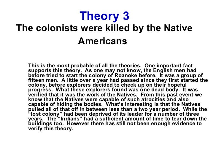 native americans vs colonists essay Read this american history essay and over 88,000 other research documents effect of colonists on native americans native americans had lived on the land now called.