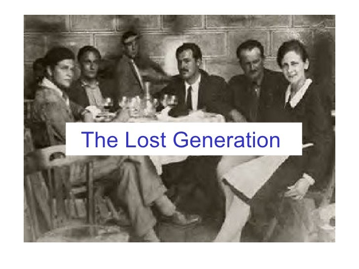 How does the term lost generation appear in