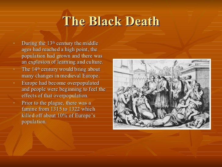the effects of the black death on medieval europe The black death: how many died the plague that struck europe in the 1340s can best be appreciated by looking at the effect it had on the population.