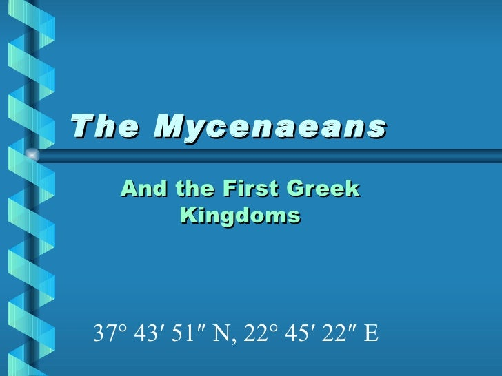 The Mycenaeans For Web