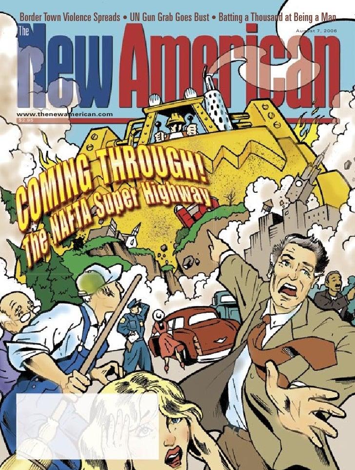 The NAFTA Super Highway - The New American Magazine - 8-7-06.pdf