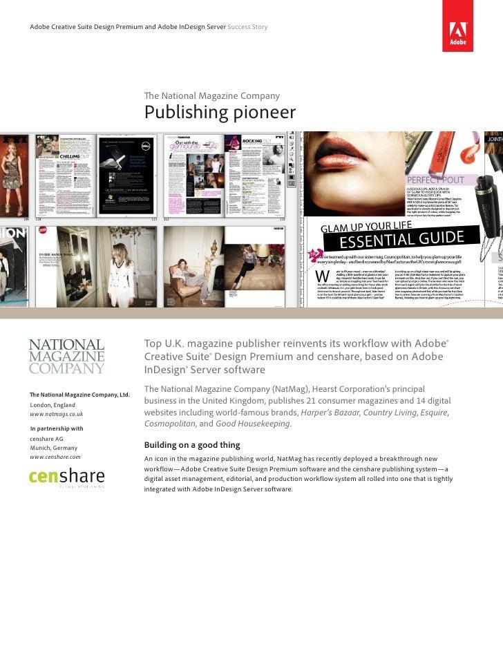Adobe InDesign CS6 - Case The national-magazine-company-casestudy