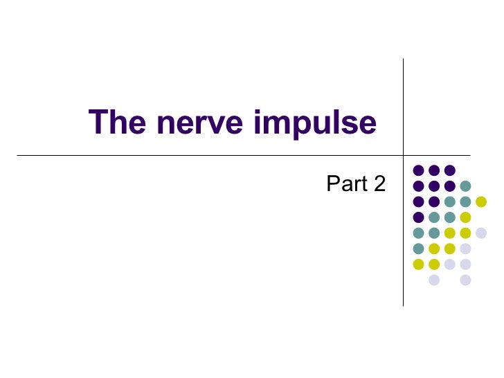 The Nerve Impulse Part 2