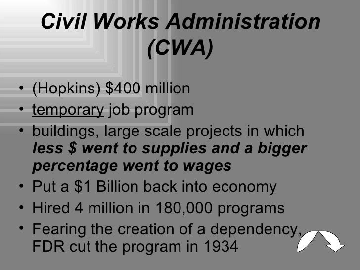 harry hopkins and the federal emergency relief act Working paper 11080 in the spring of 1933 the federal emergency relief act created the federal emergency roosevelt chose harry hopkins as the fera administrator.