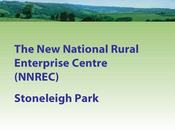 The New National Rural Enterprise Centre  (NNREC) Stoneleigh Park