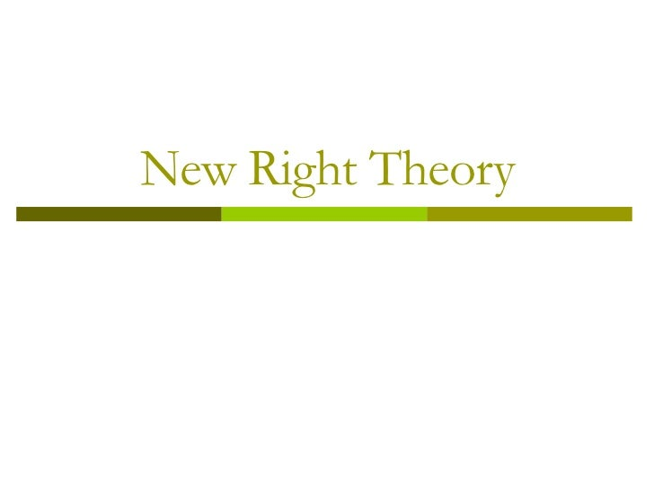 collectivism new right Individualism versus collectivism or versus authoritarianism is 'always right and tends to individualism that he thought permeated the new society of.