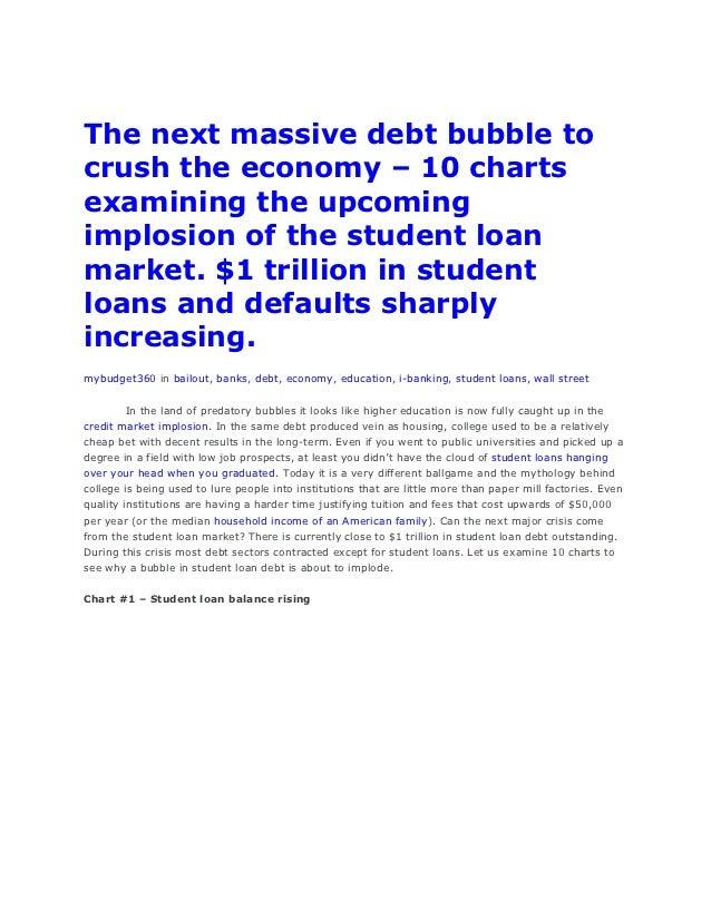 The next massive debt bubble to crush the economy