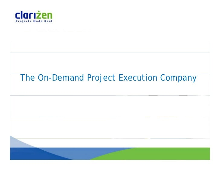 The On-Demand Project Execution Company