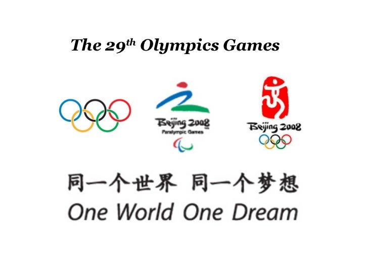 The Opening Ceremony Of 29th Olympics
