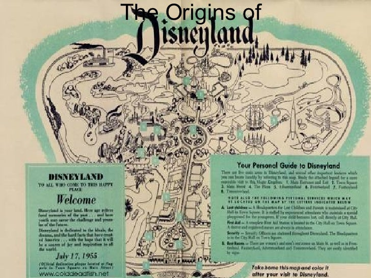 The Origins Of Disneyland