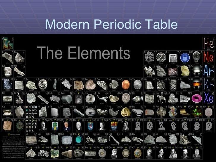 The Periodic Table Presentation 2