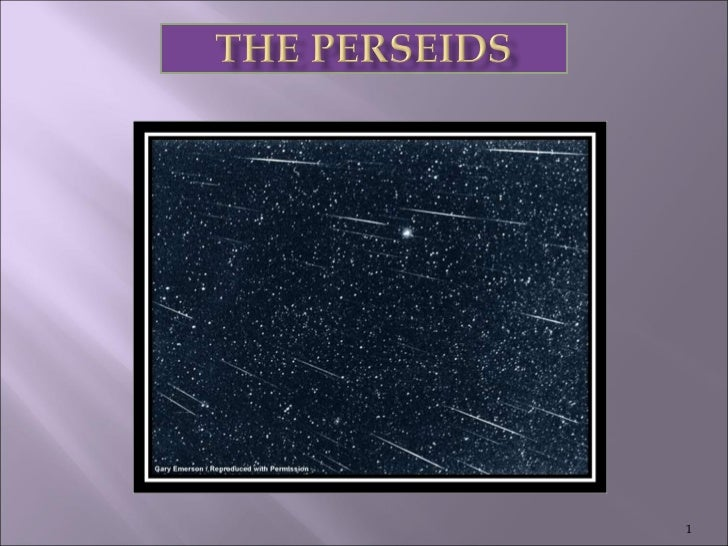 The Perseids2008