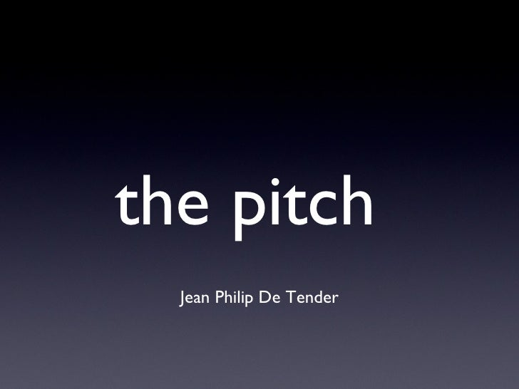 The Pitch 2