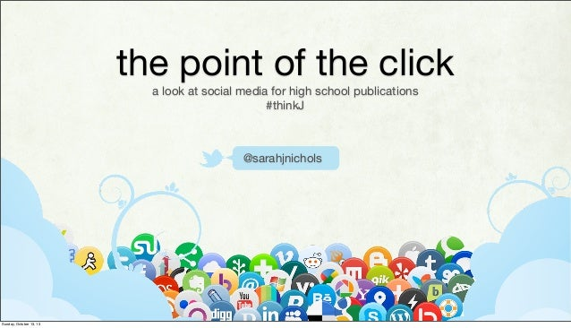The point of the click