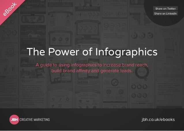 Share on Twitter Share on LinkedIn  The Power of Infographics A guide to using infographics to increase brand reach, build...