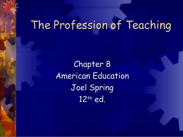 The Profession Of Teaching[1]