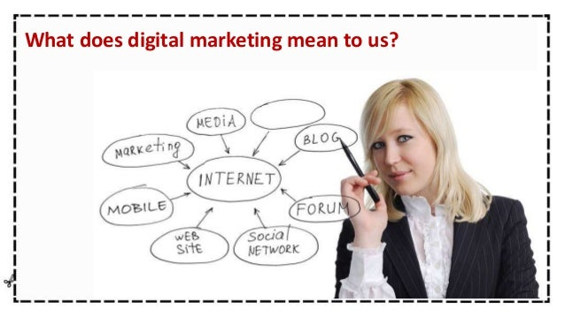 What does digital marketing mean to us?