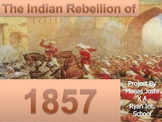 essay on revolt of 1857 in india
