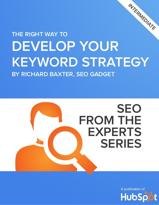 SEO - The right way to develop keyword strategy